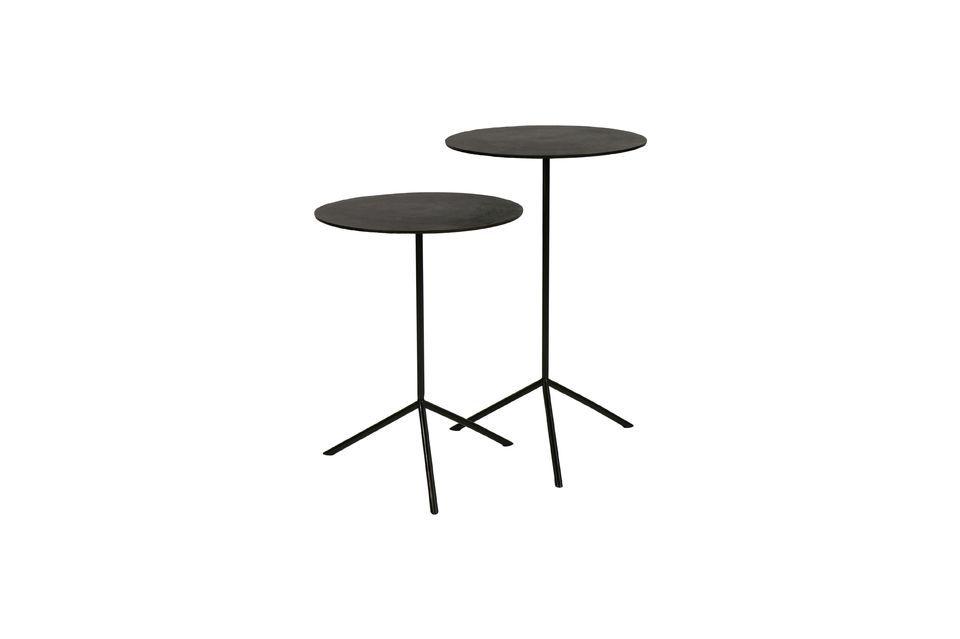 2 petites tables d'appoint Jive Pomax