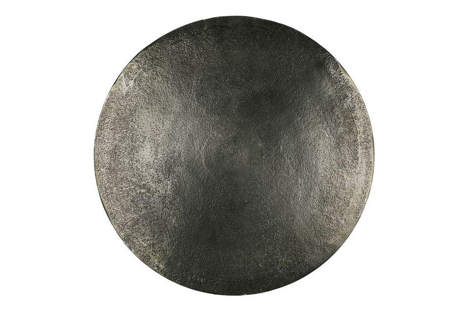 Petites tables rondes en métal noir