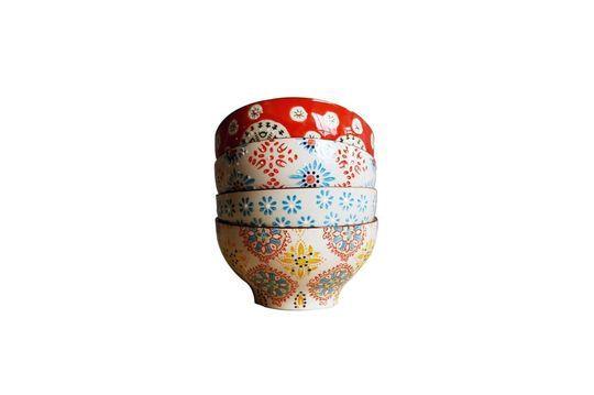 4 bols en céramique Bohemian Détouré