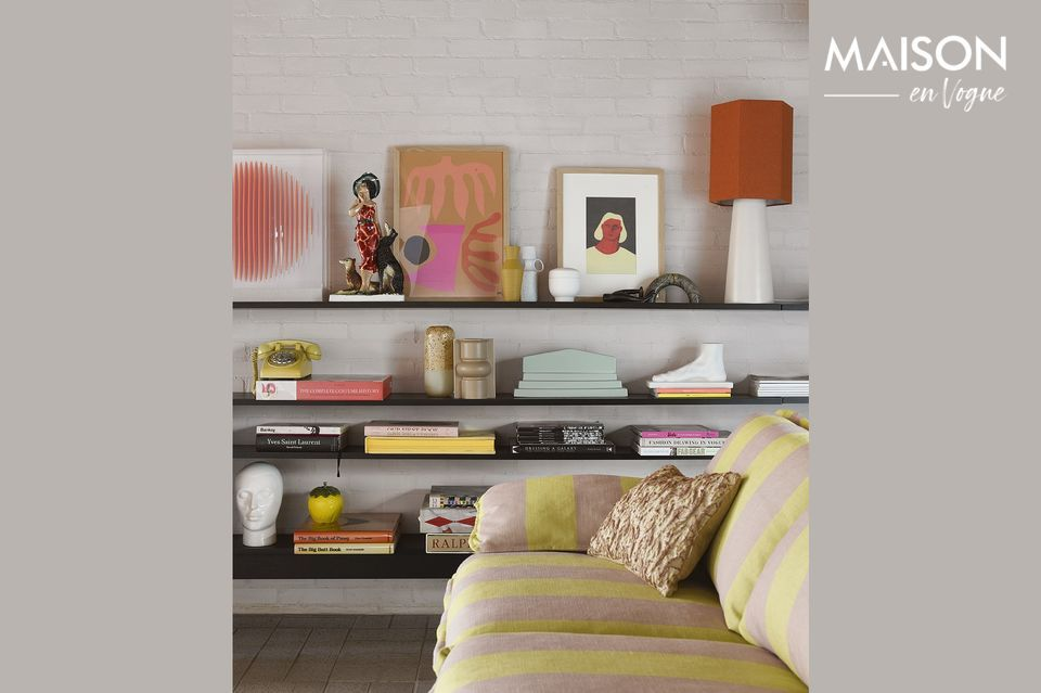 Cette pièce moderne illuminera votre habitation dans un design élégant et contemporain