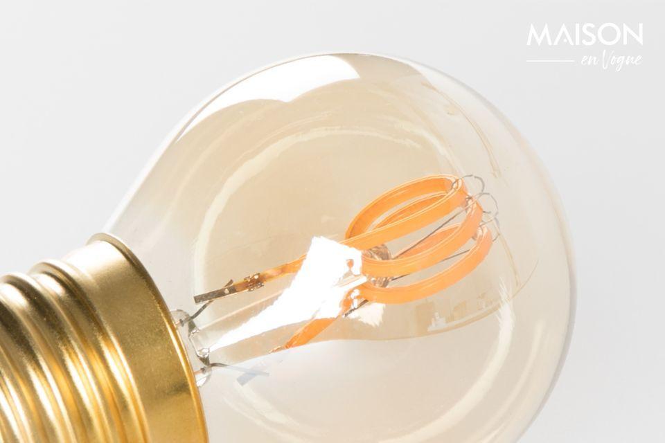 Une petite ampoule moderne