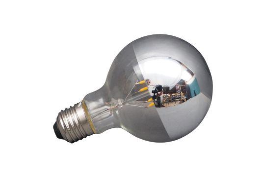 Ampoule E27 LED argentée Détouré