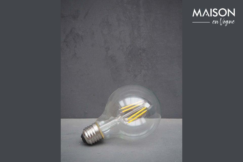 Ampoule E27 LED transparente Chehoma