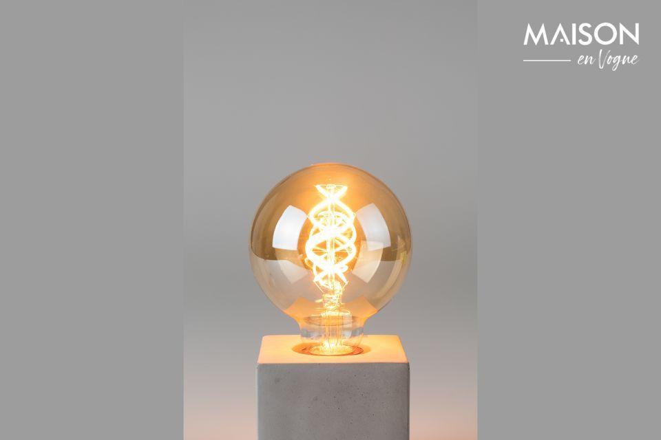 Ampoule Globe Gold taille L White Label