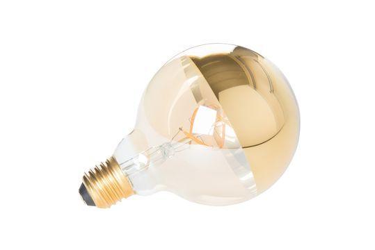 Ampoule Globe Miroir Or Détouré