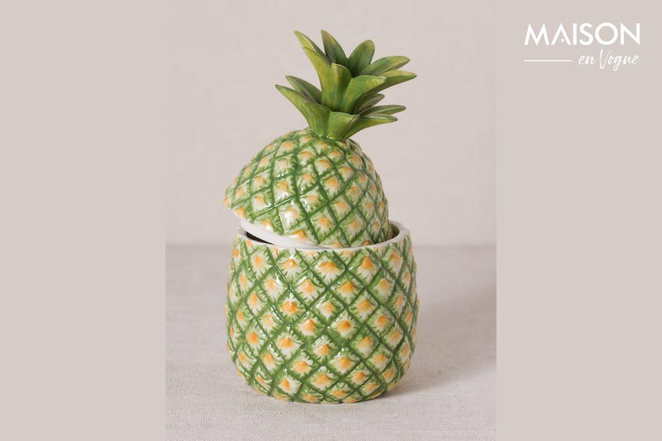 Ananas en céramique Troubat Chehoma