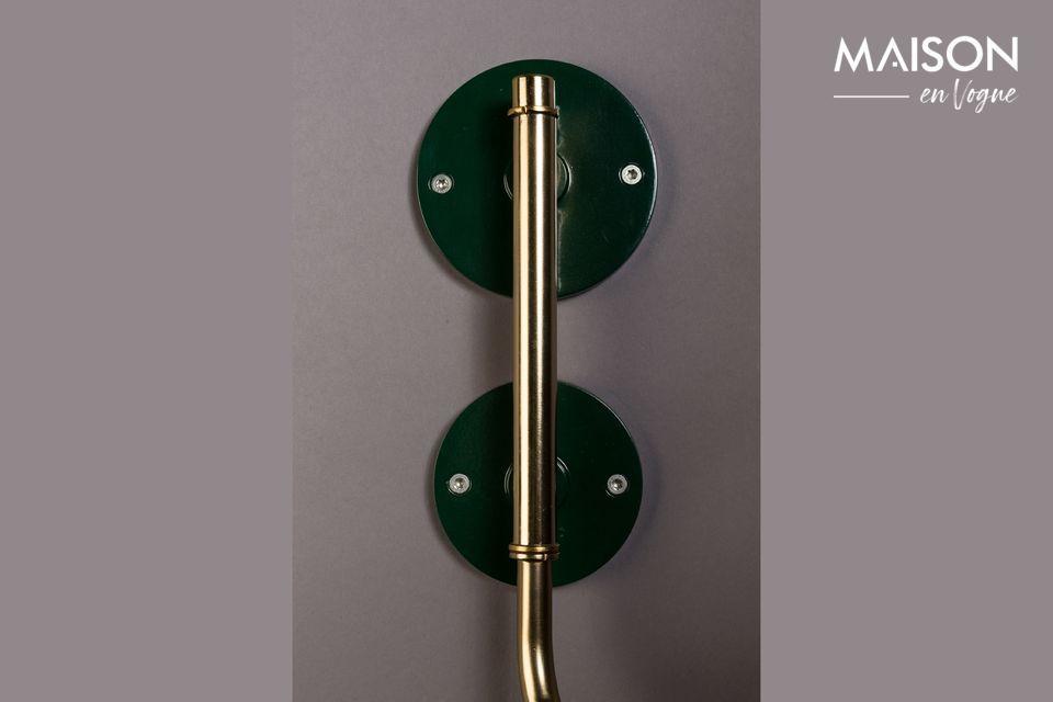 La Lampe Murale Devi Vert vous propose aujourd\'hui d\'oser le design 100% rétro