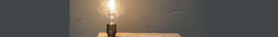 Mise en avant matière Applique murale et étagère Arsy en bois