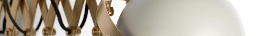Mise en avant matière Applique Sarana grise