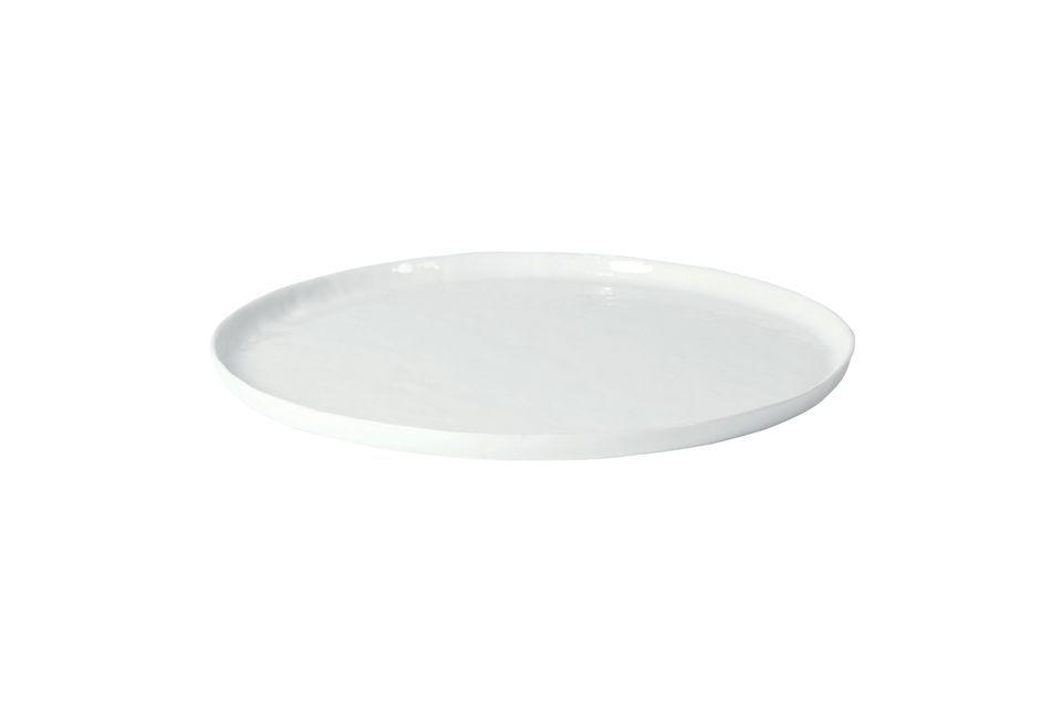 Assiette De Présentation Porcelino White Pomax