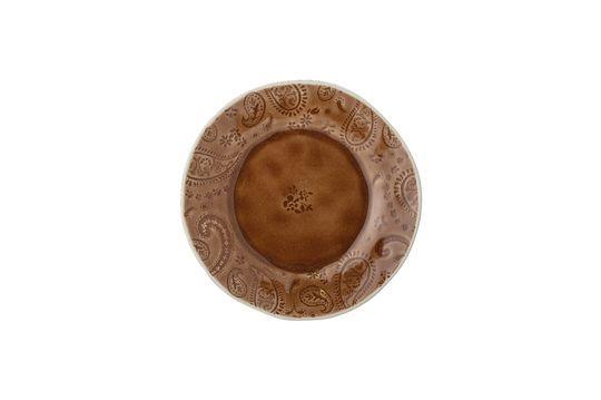 Assiette Rani en grès Détouré