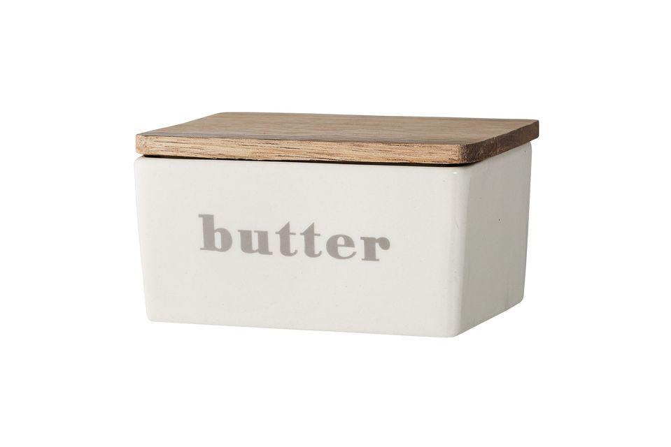 Une boîte à beurre sobre et élégante