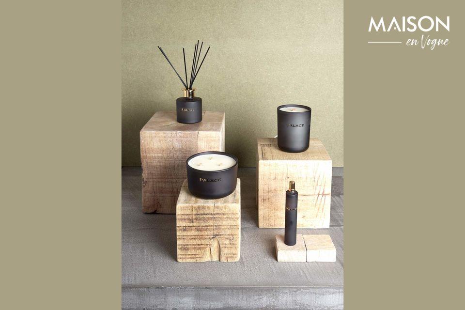 Cube naturel en bois pour élément de décoration