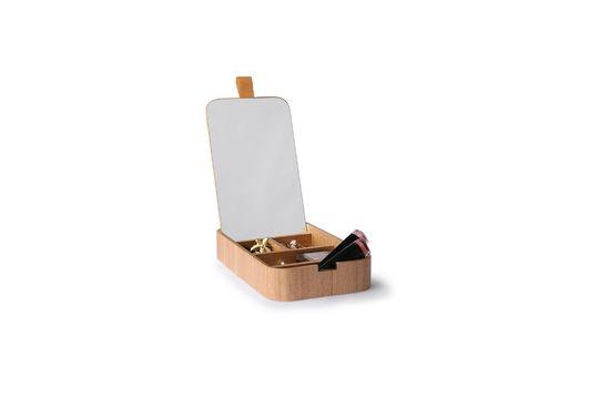 Boîte à miroir Curchy en bois de saule