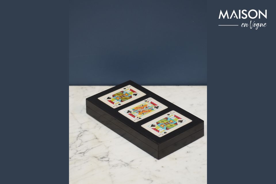 Boîte colorée de 3 jeux de cartes Rezza Chehoma