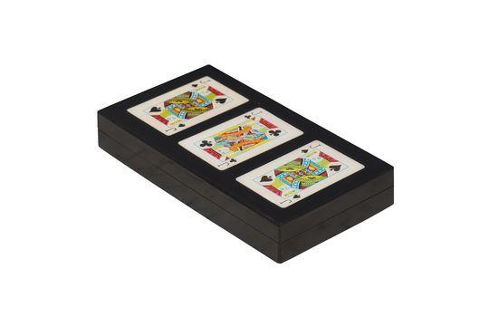 Boîte colorée de 3 jeux de cartes Rezza Détouré