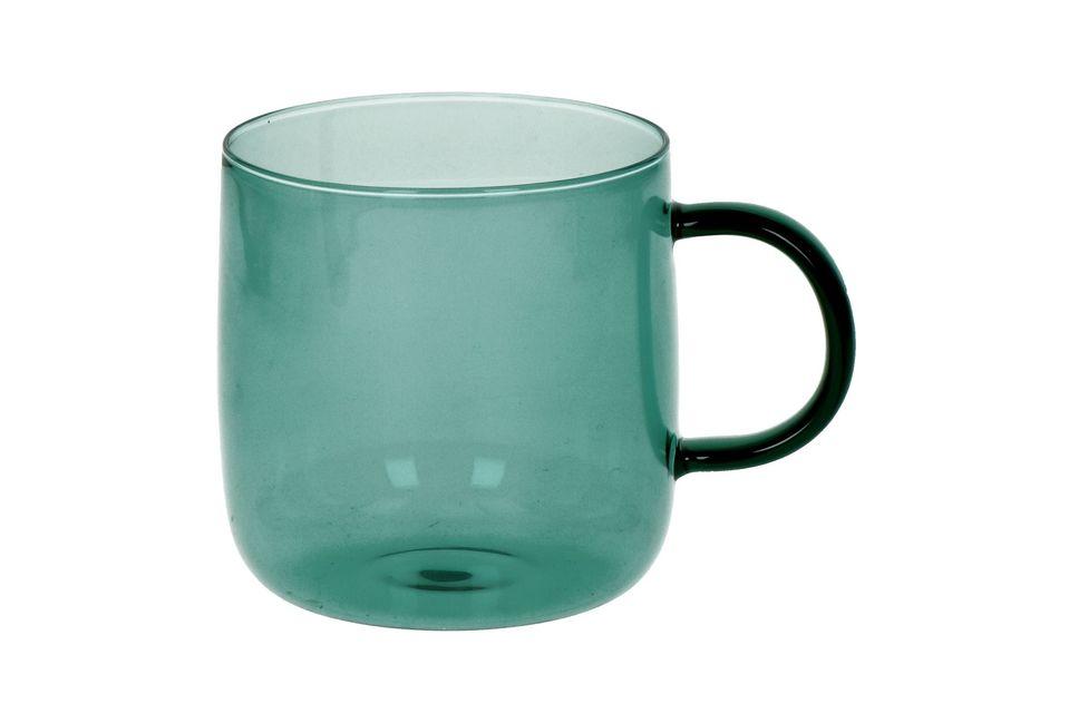 Boite de 4 tasses en verre borosilicaté Lasi