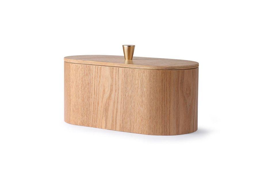 Son design naturel conserve la teinte du bois