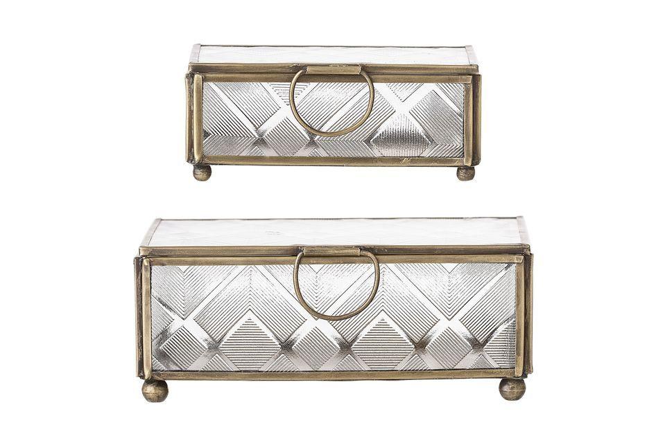Ces boîtes sont polyvalentes car elles sont de deux formats distincts