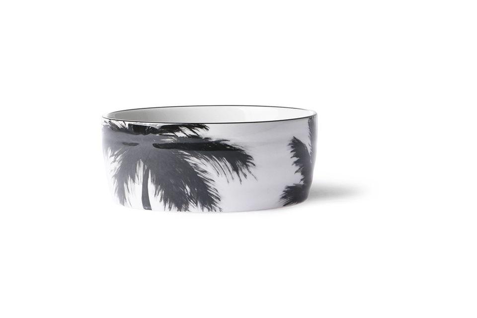 Bol palmiers en porcelaine Fréthun - 3