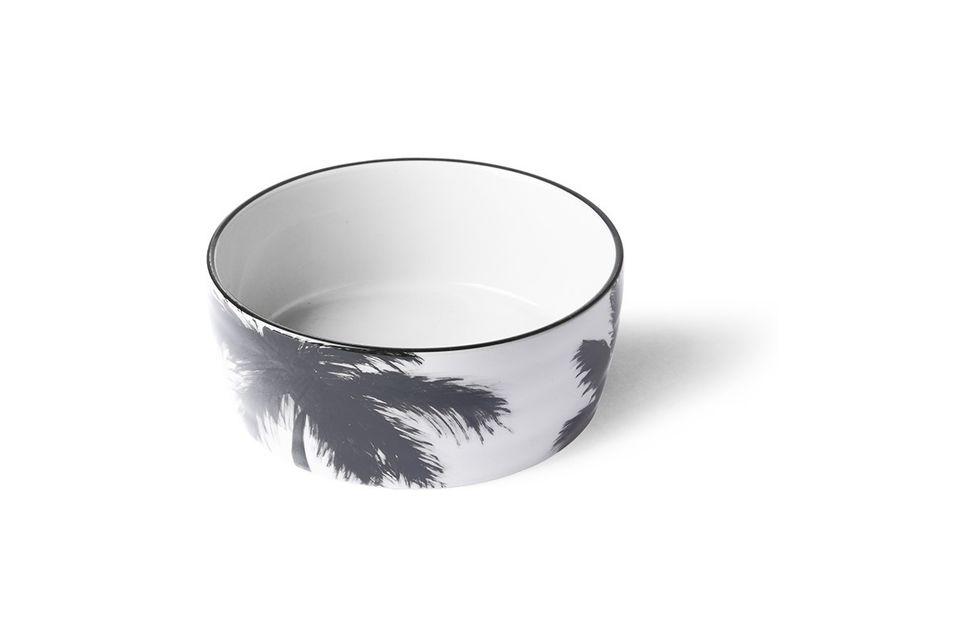 Bol palmiers en porcelaine Fréthun HK Living