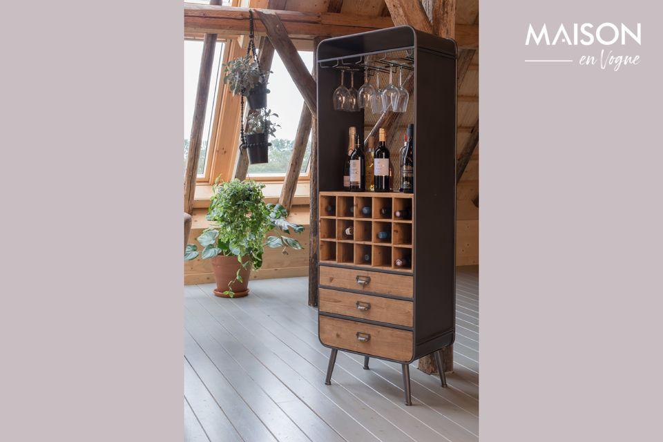 Cabinet Vino Dutch Bone