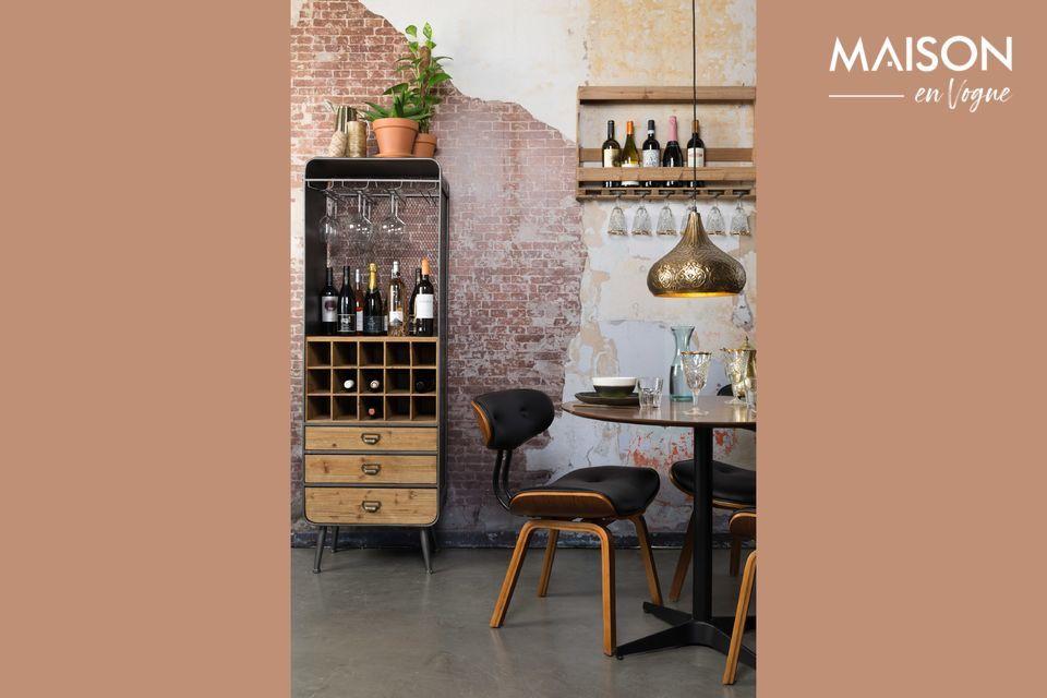Avec son style vintage, il s\'inspire d\'un cabinet provençal pour une allure pleine de charme