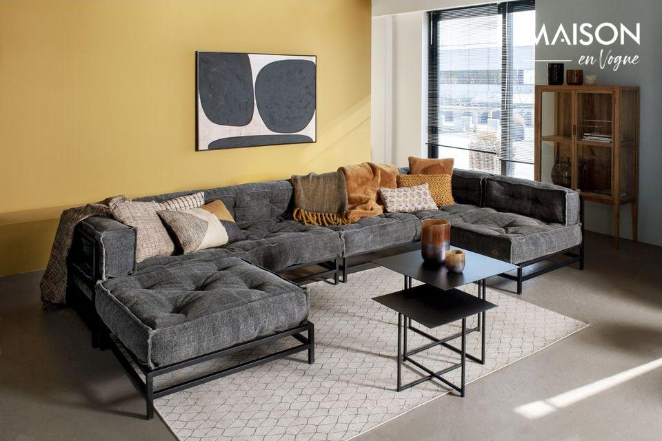 Un canapé 1 place confortable et esthétique
