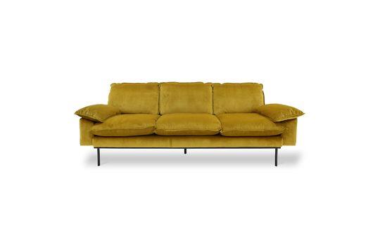 Canapé 3 places Vez coloris ocre