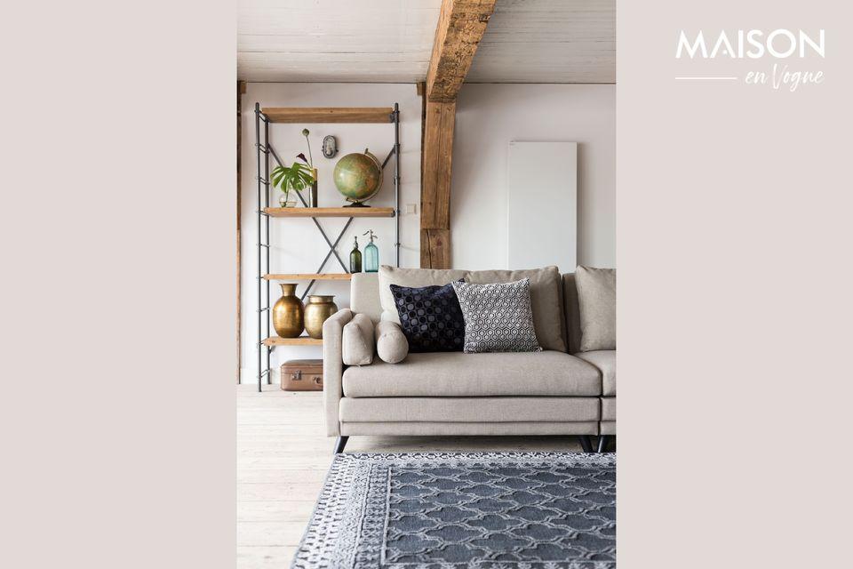 Canapé moderne 3,5 places