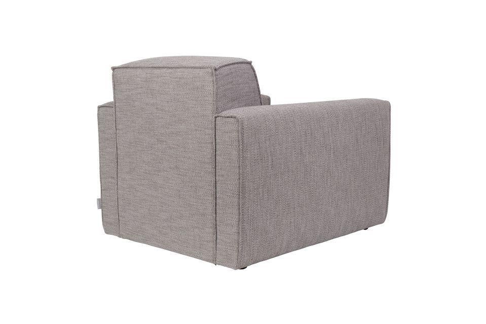 Canapé Bor 1 place gris - 6