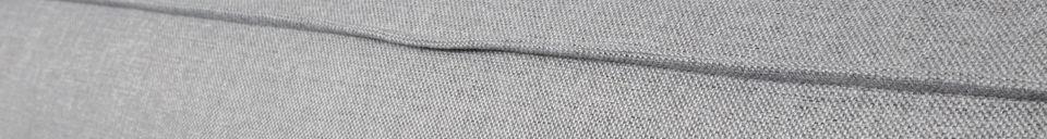 Mise en avant matière Canapé d'angle droit Fat Freddy gris clair