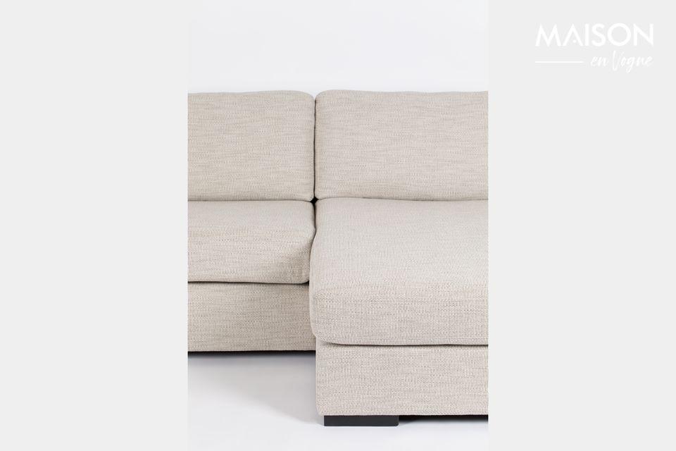 Canapé d'angle Fiep beige droite - 8