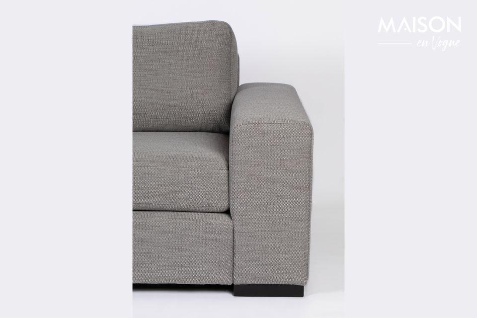 Canapé d'angle Fiep gris gauche - 5