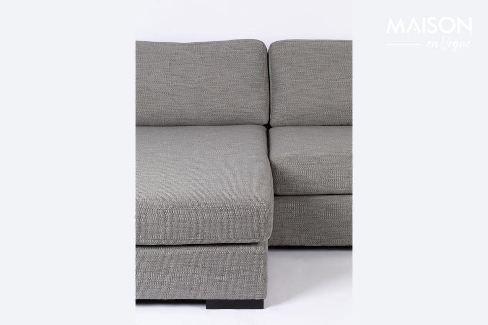 Canapé d'angle Fiep gris gauche - 7