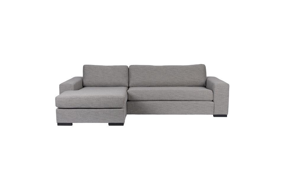 Canapé d'angle Fiep gris gauche - 8