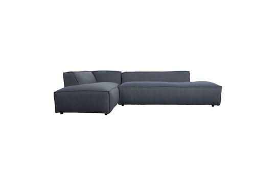 Canapé d'angle gauche Fat Freddy gris-bleu