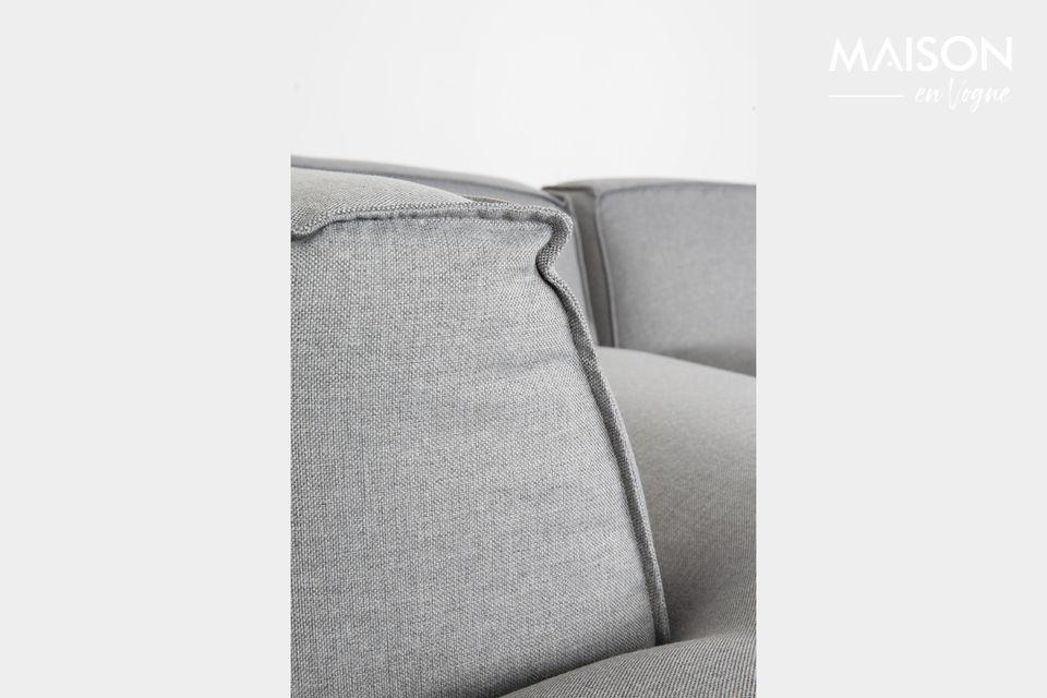 Ce canapé d\'angle allie confort incomparable et modernisme