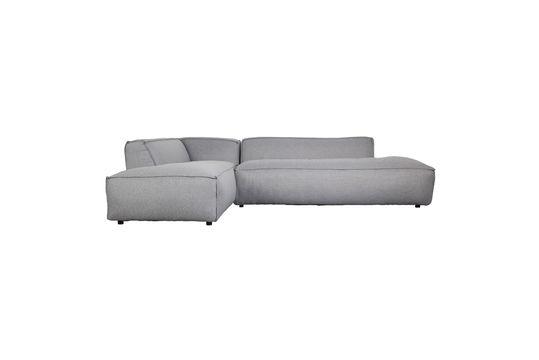 Canapé d'angle gauche Fat Freddy gris clair