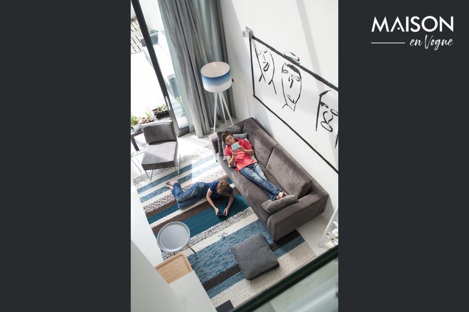 Le confort et la praticité d'un canapé mêlant tradition et modernité