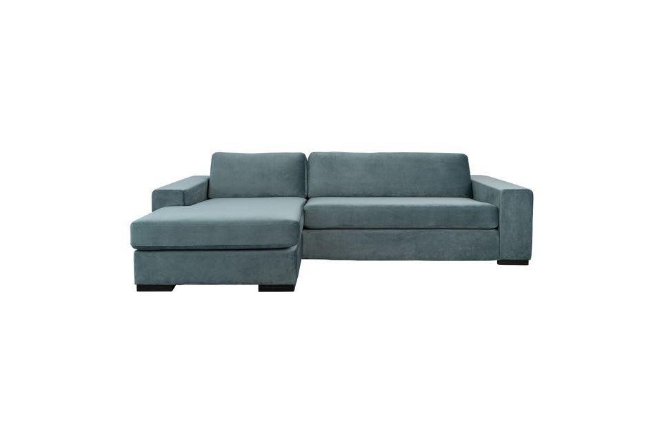Les lignes simples de ce canapé sont habillées d\'un coloris des plus modernes