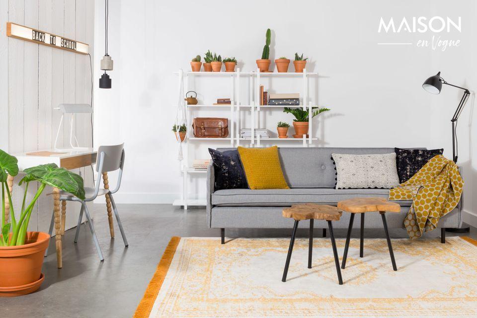 Un canapé qui s'adapte à toutes les décorations d'intérieur