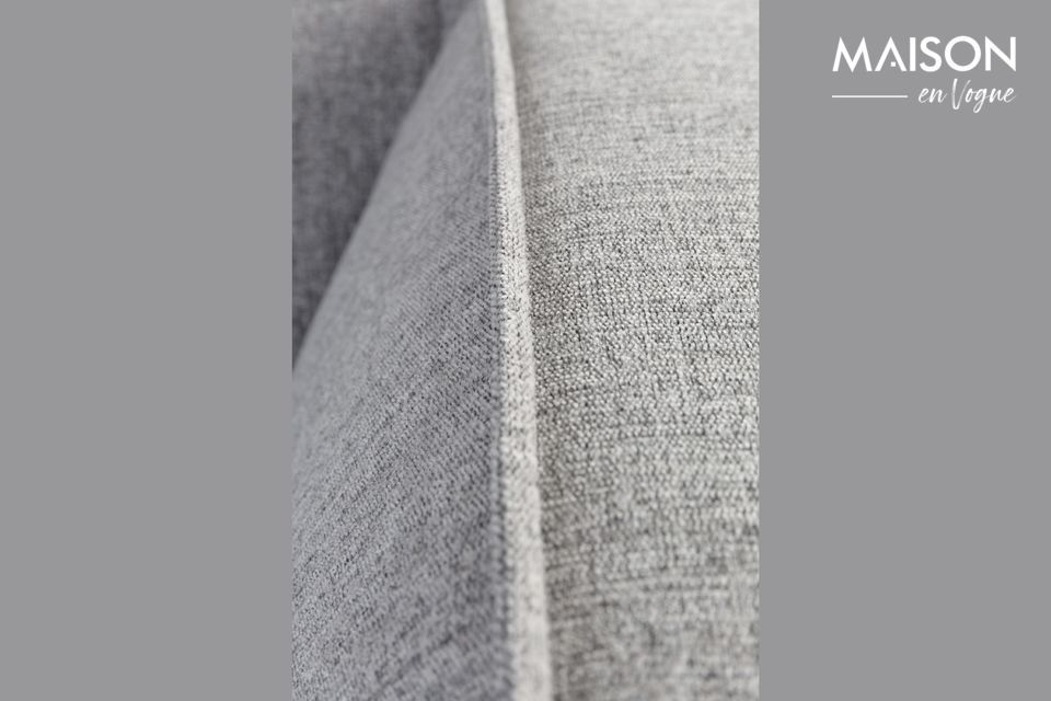 Il est parfait pour créer une ambiance cosy grâce à son tissu texturé sans affaissement