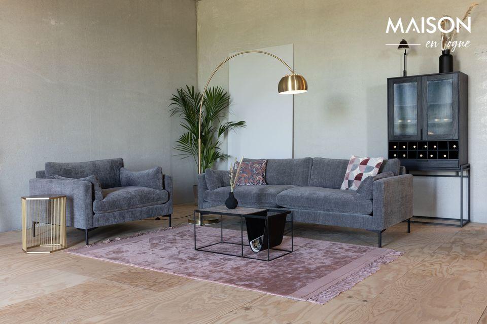 Pour un confort moderne, un canapé qui est le bienvenu dans tous les décors
