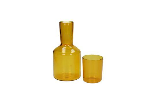 Carafe et verre assortis Lasi Détouré