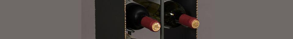 Mise en avant matière Casier à vin Stalwart