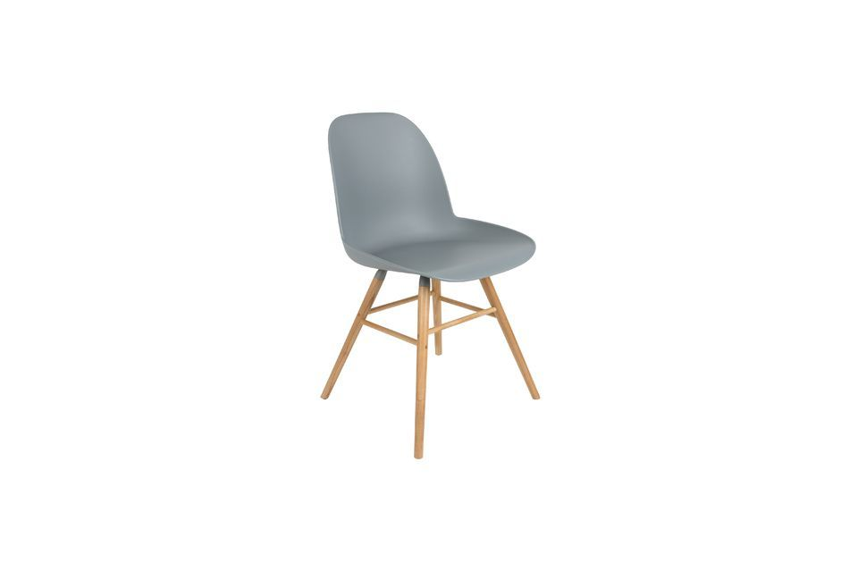 Chaise Albert Kuip Gris Clair Zuiver