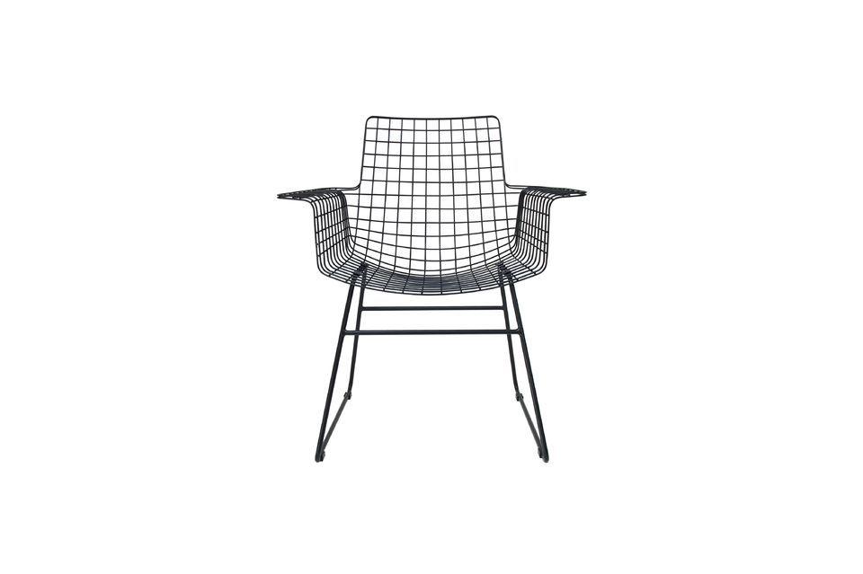 La chaise en métal Altorf