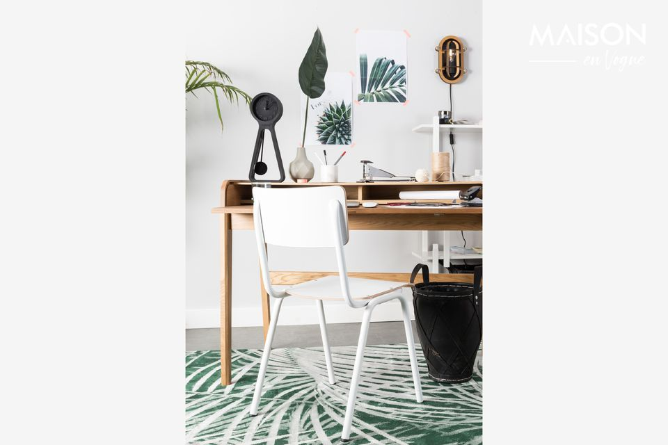 Chaise Back To School Blanche Zuiver