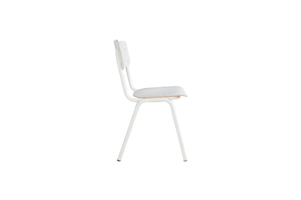Chaise Back To School Blanche - 12